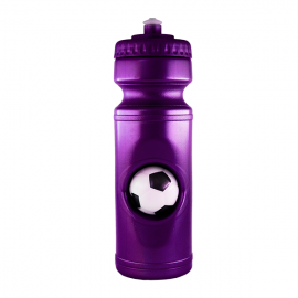 Sportec 2 with Soccer Stress Ball 750ml Sports Bottle - Solid