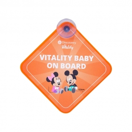 Baby on Board Plaque - With Full Colour Sticker