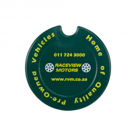 301C - License Disk Round - One Colour Print