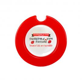 301D - License Disk Round - Domed Sticker