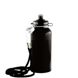 804A - Sports Bottle Lasso Cord Lanyard - Black & White Only