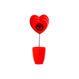 Memo Holder - Heart Shaped