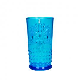 Fleur De Lis Glass