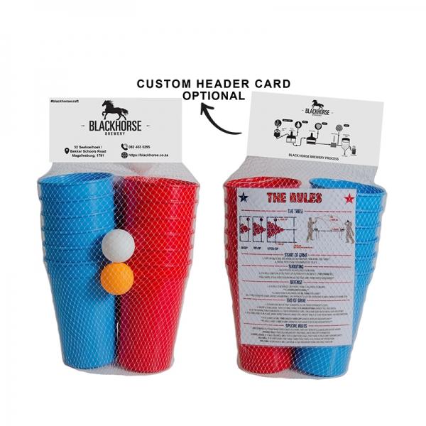 1478P - Beer Pong Set Incl. Branded Cups